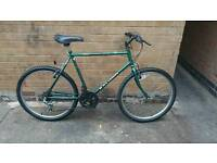 mens Raleigh cyclone hardtail mountain bike in good condition