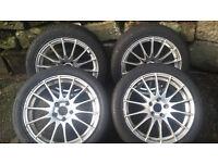 Alloys wheel with tyres x4