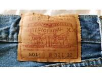 Levi's 501 jeans 32 32