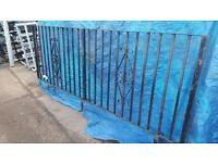 wrought iron fence railing ref 4
