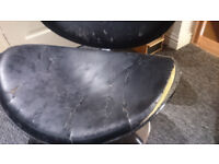 Swivel chair in need of re-upholstering