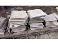 50 used paving slabs