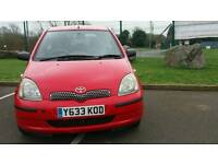 TOYOTA YARIS AUTOMATIC 12MONTH MOT 12SERVICES FROM TOYOTA WARRANTED MILES EXCELLENT CONDITION