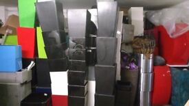 Large selection of industrial planters in various sizes,shapes,materials