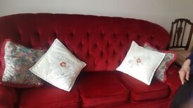 Red Sofa Bead for sale.