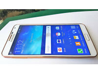 AS NEW BOXED RARE WHITE GOLD SAMSUNG GALAXY NOTE 3-III SM-N9005 -32GB-VODAFONE EXCELLENT CONDITION
