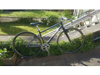 Pinnacle bike frame + crankset + wheels + brakes etc.