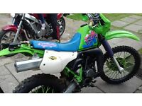 £1500 no offers bargain dtr killer!!!! kawasaki kmx 125/200 learner legal