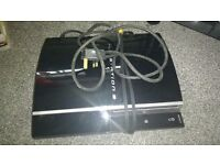 PlayStation 3 with leads no remotes vgc