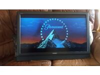 """40"""" Sony Bravia TV, Instructions & Remote only for sale"""