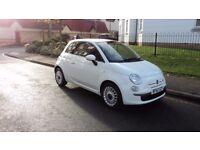 Fiat 500 1.2 Lounge Dualogic 3dr Automatic (start/stop) 2012 (12) (Not Yaris / Corsa / Micra) £4975