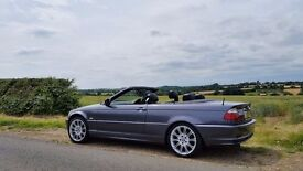 BMW convertible low mileage