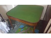 Antique card table very good condition . Owners going overseas