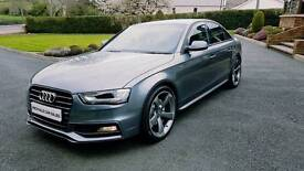 2012 AUDI A4 TDI S LINE...FACELIFT MODEL...FSH...FULL MOT...BLACK EDITION STYLING...MINT CONDITION..