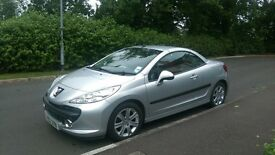 Stunning Peugeot. 207cc. Diesel. Mot-ed April 2017 and Taxed to October. Immaculaue interior