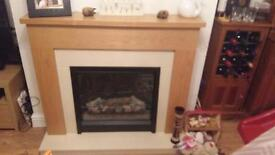 Electric fire & Fire Place