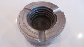 Vtg MAHLE Renault Trucks Piston Door Stop / Ashtray - Artisan Made