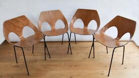 4 Carl Jacobs' 1950's Jason Chairs