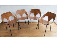 4 Carl Jacobs' 1950's Jason Chairs