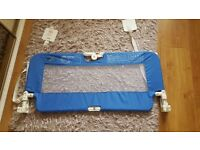 Bed guard - blue, brand new, bought but not used, no box