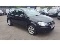 VW POLO 1.2 MATCH 3 DOOR 2008 / FULL SERVICE HISTORY / HPI CLEAR / EXCELLENT CONDITION