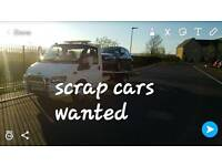 SCRAP CARS WANTED CASH PAYED 07411147032