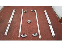 Nissan Navara D40 tie down rails and clamps