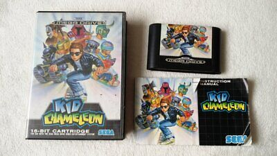 ***Sega Mega Drive Kid Chameleon game with manual PAL*** comprar usado  Enviando para Brazil
