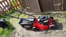 Petrol lawn.mower