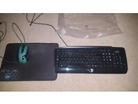 Emprex gaming keyboard + FREE Drakonia mouse mat