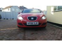 Genuinley Low very good condition Red Seat Leon Reference
