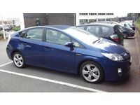 Uber Ready Toyota Prius Full Hybrid Cars for PCO Car Hire, PCO Rent-Amazing Service and Cheap Prices