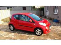 Citroen C1 1.0i VTR in Red 58k Full Service History 2 owners from new