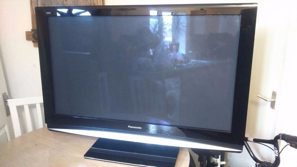 Panasonic Viera Th 42pz80ba Plasma Tv Television 42 Inches With