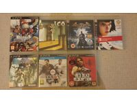 PlayStation3 with 7 games