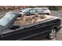 Saab 93 convertible in black