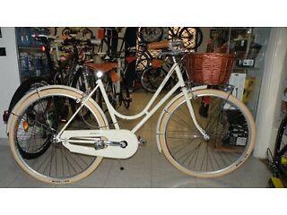 Rare 2014 Rossignoli Garibaldi 71 Single-Speed Size-17 Ladies City Bike in Perfect Order (RRP 800)