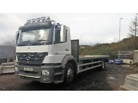 Mercedes Flatbed 18ton - 25ft Body - 2005 - 55Plate - £8,750 Plus VAT