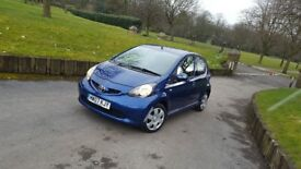 Aygo AC Blue 5 doors £20 tax Amazing on fuel not 107 c1 polo micra alto swift corsa jazz civic yaris