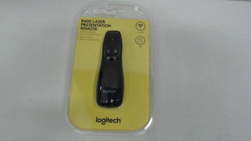 Logitech Wireless Presenter R400 - Remote Clicker with Laser Pointer