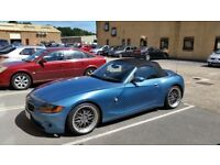 BMW Z4 2.5i SE LOWERED BBS LM( z3 mazda mx5 mx-5 mercedes slk porsche boxter mr2 325ci 328ci 330ci )