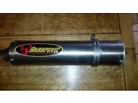 Akrapovic race exhaust can for Kawasaki ZX-9R