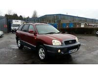 2002 (02 Reg) Hyundai Santa Fe 2.4 4x4 SW For £995, Mot'd 15/03/2018, Drives very well