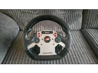 Fanatec racing simulator rig