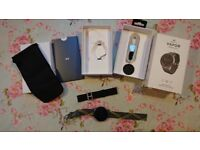 Misfit Vapor Smartwatch (MIS7004). Mint condition, boxed with additions!
