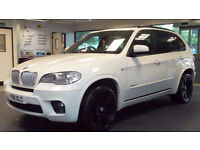 2011 11 BMW X5 3.0 XDRIVE40D M SPORT 5D AUTO 302 BHP DIESEL *2 YEARS WARRANTY*FINANCE AVAILABLE