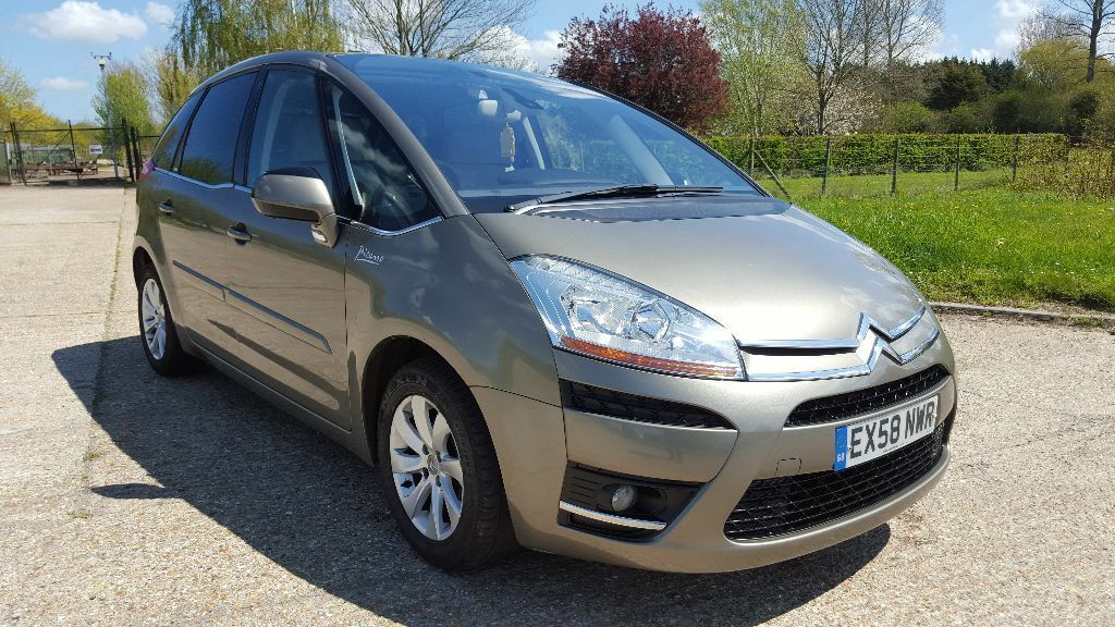 2008 citroen c4 picasso 2 0 hdi exclusive 5dr full service history hpi clear in ashford kent. Black Bedroom Furniture Sets. Home Design Ideas