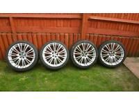 """18"""" oz alloy wheels"""