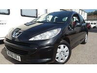 2006 PEUGEOT 207 1.4 S BLACK NEW CAMBELT CHEAP INSURANCE VERY GOOD CONDITION