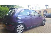 Lady owner Purple Corsa